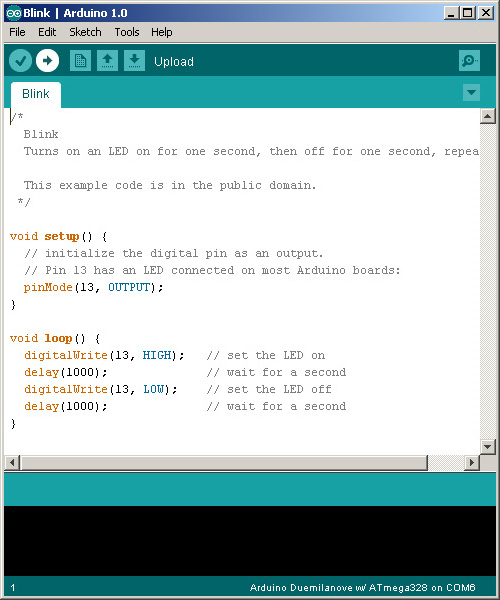 Бесплатная среда разработки Arduino IDE
