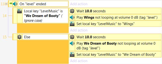 Пример смены трека в Construct 2