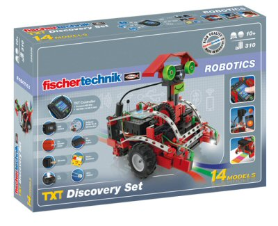 Набор ROBOTICS TXT Discovery Set от компании fischertechnik для сборки роботов