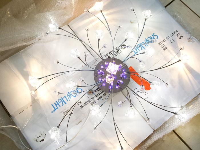 Ремонт люстры со светодиодами своими руками