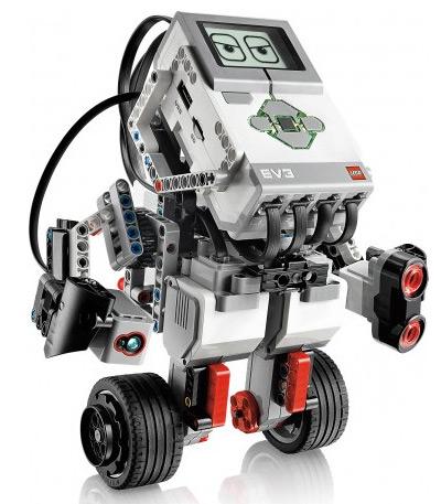 Балансирующий робот из стартового набора LEGO Mindstorms EV3