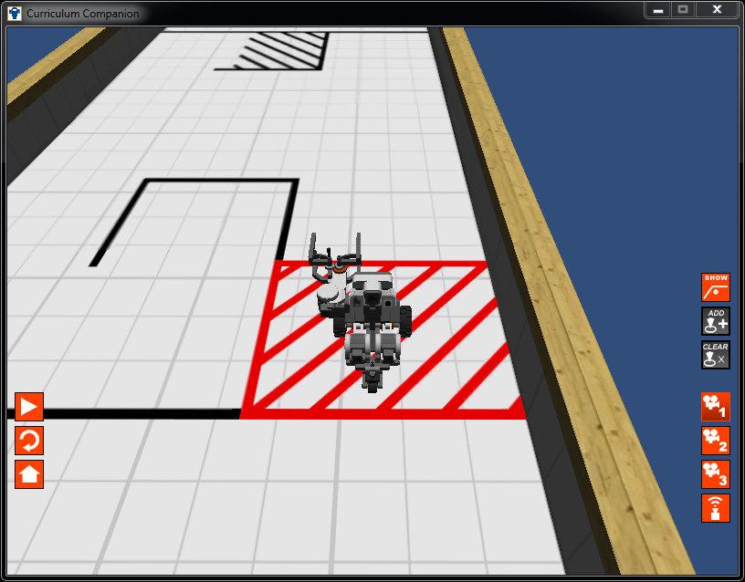 Тестирование робота в виртуальном мире RobotC