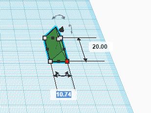 Точное изменение размера в Tinkercad