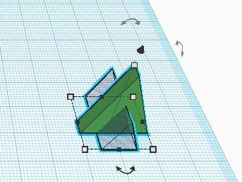 Выделяем несколько объектов в Tinkercad