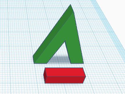 Объекты в увеличенном масштабе в Tinkercad