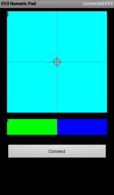Приложение EV3 Numeric Pad