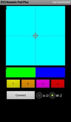 Приложение EV3 Numeric Pad+